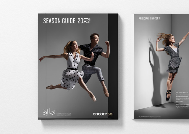 2020 Season Guide Book Design