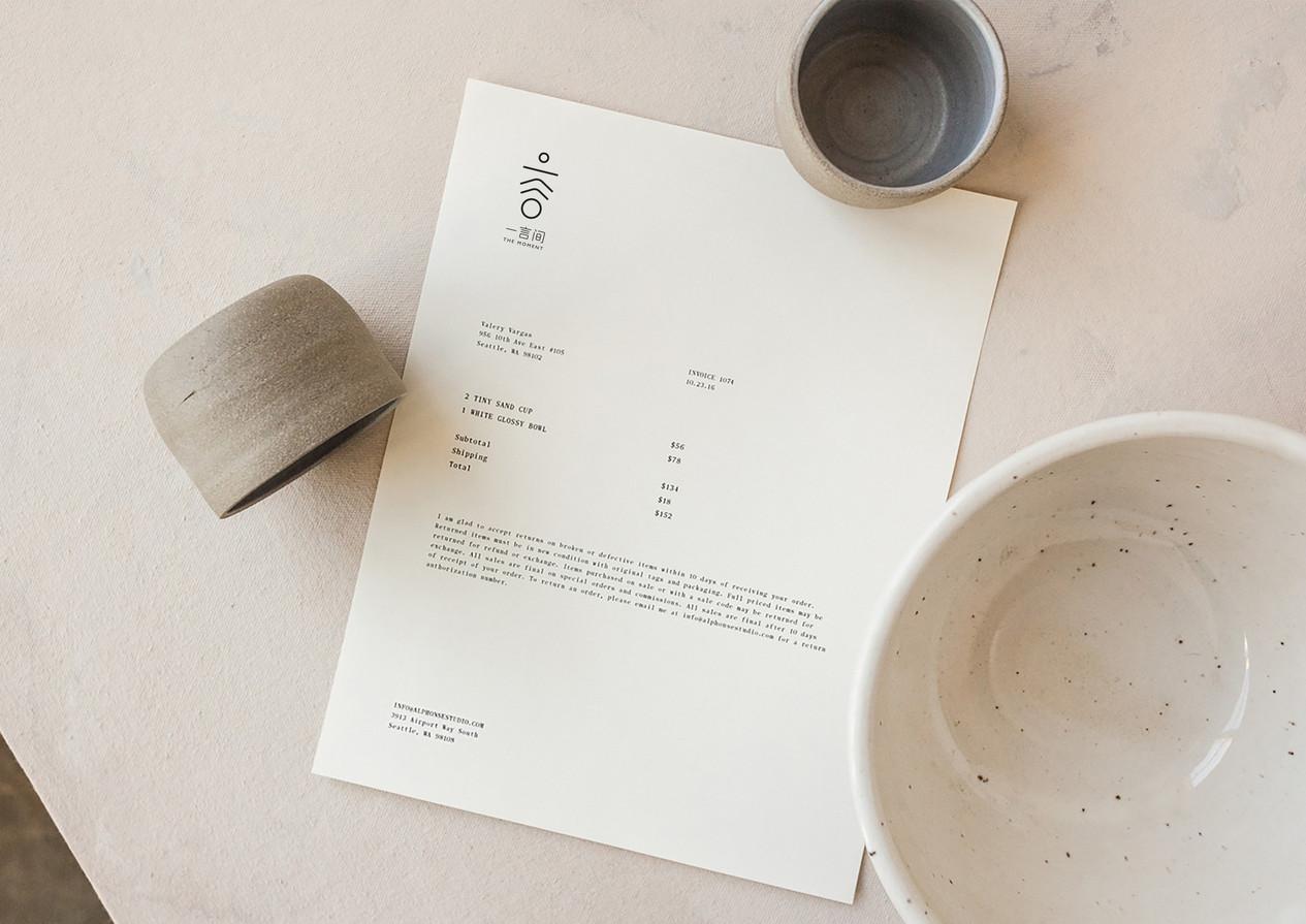 The Moment Tea Brand Identity Design