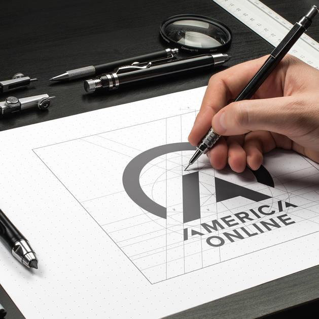AOL Conceptual Rebranding