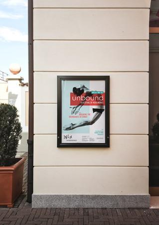Unbound Festival Street Poster Design