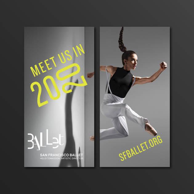 SF Ballet 2020 Season Street Banner Design