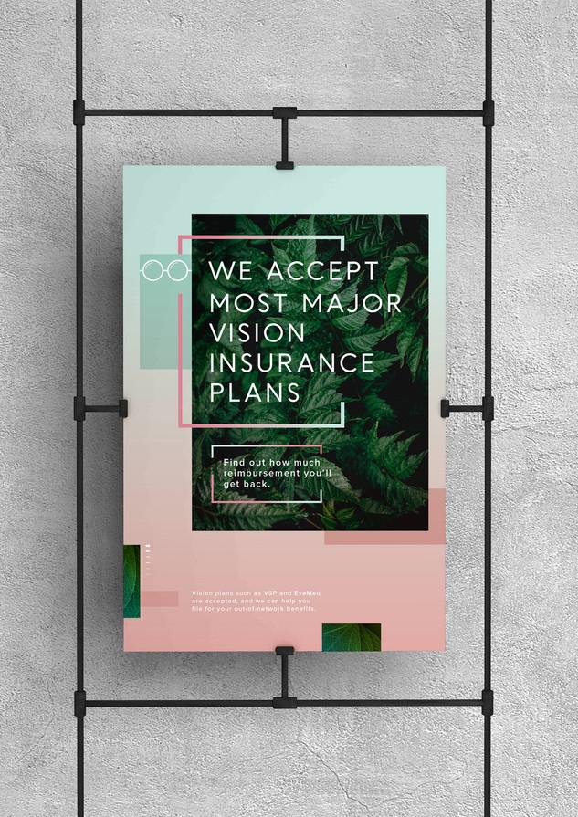 JINS Store Poster Design
