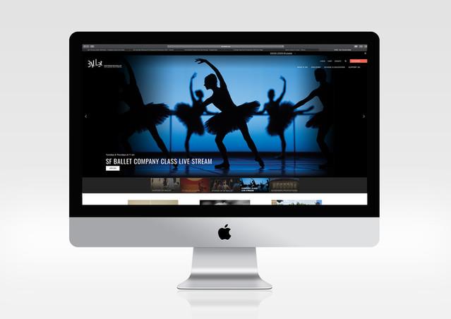 SF Ballet Web Design 02