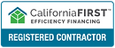 California First Efficiency First Registered Contractor