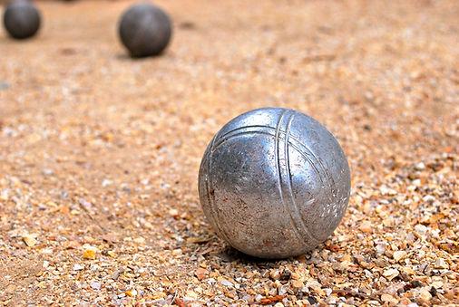 Bocce Ball installation