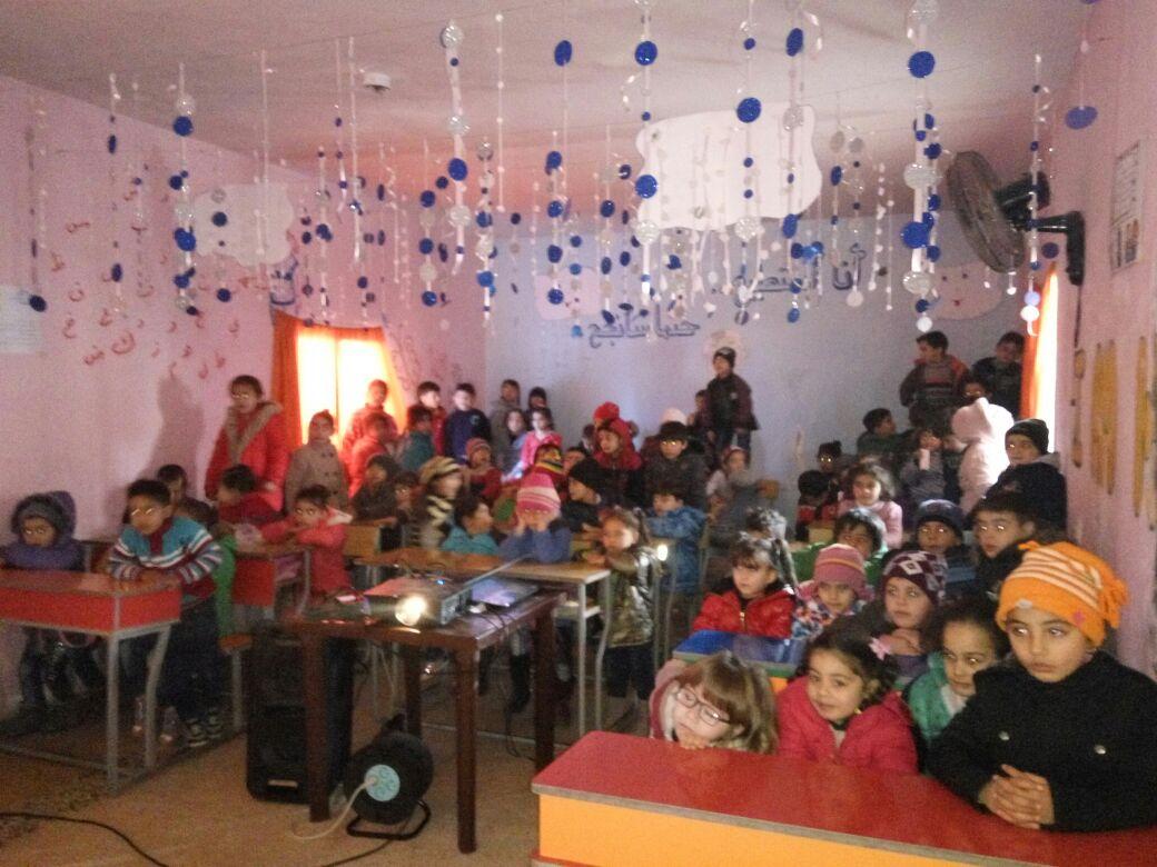 Nice classroom