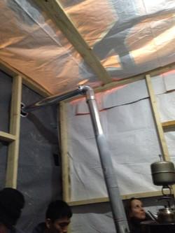 A tent we built