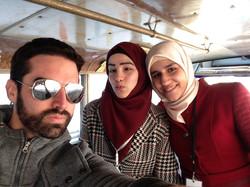 With Rama and Israa