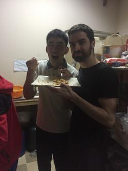 With Masaki