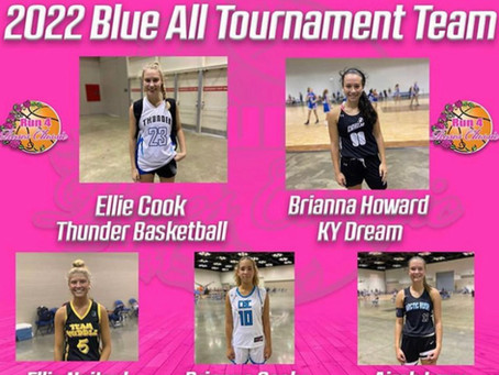 Ellie Cook Selected to the 2022 Blue All Tournament Team