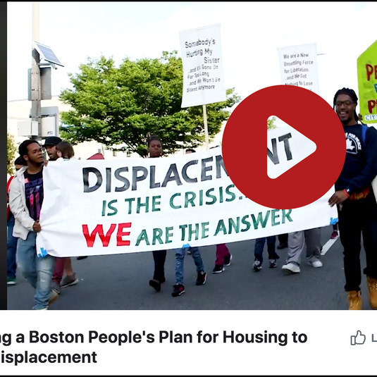 Video: Building a Boston People's Plan