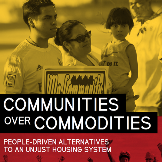 Report: Communities Over Commodities