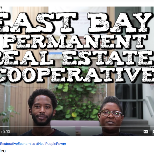 Video: East Bay Permanent Real Estate Cooperative