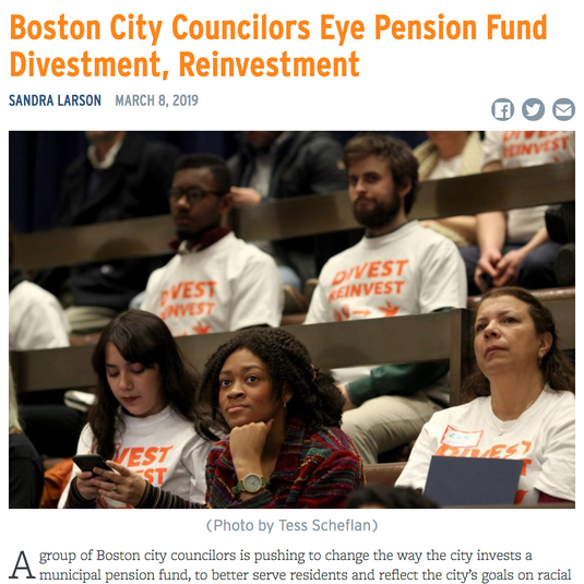 Boston City Council Hearing