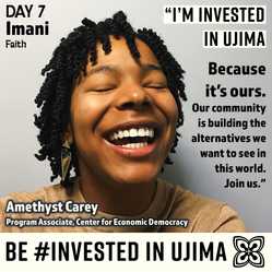 #InvestedInUjima: Amethyst Carey
