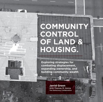 Report: Community Control of Land & Housing