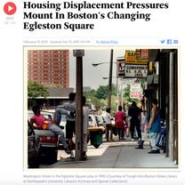 Radio: Housing Displacement Pressures Mount In Boston's Changing Egleston Square
