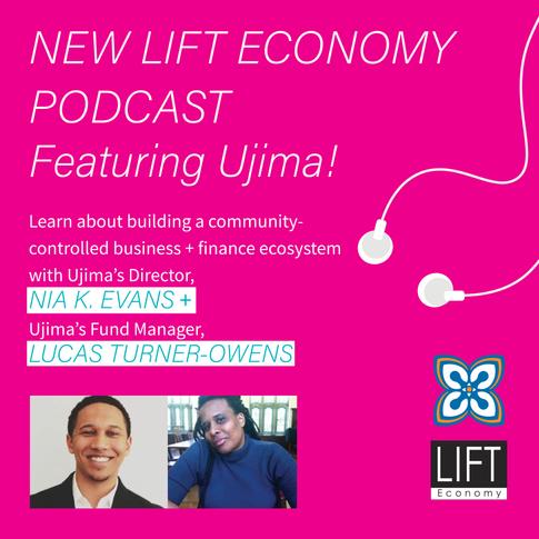 Listen: Lift Economy Podcast with Nia Evans & Lucas Turner-Owens with Ryan Honeyman