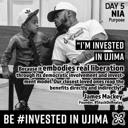 #InvestedInUjima: James Mackey