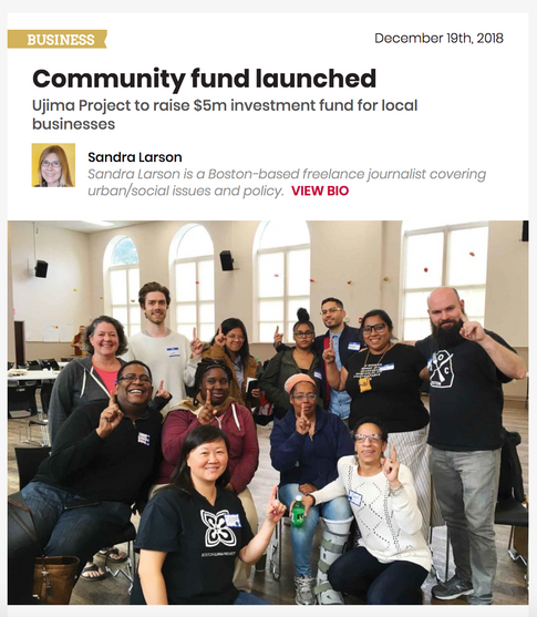 Read: Community Fund Launched, Sandra Larson