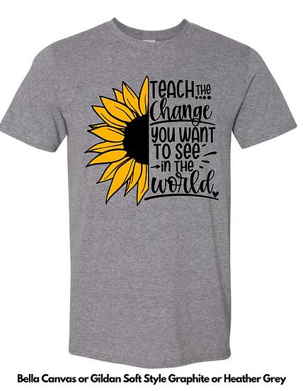 Teach the Change UNISEX Tees
