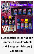 Cosmos Ink for Sublimation