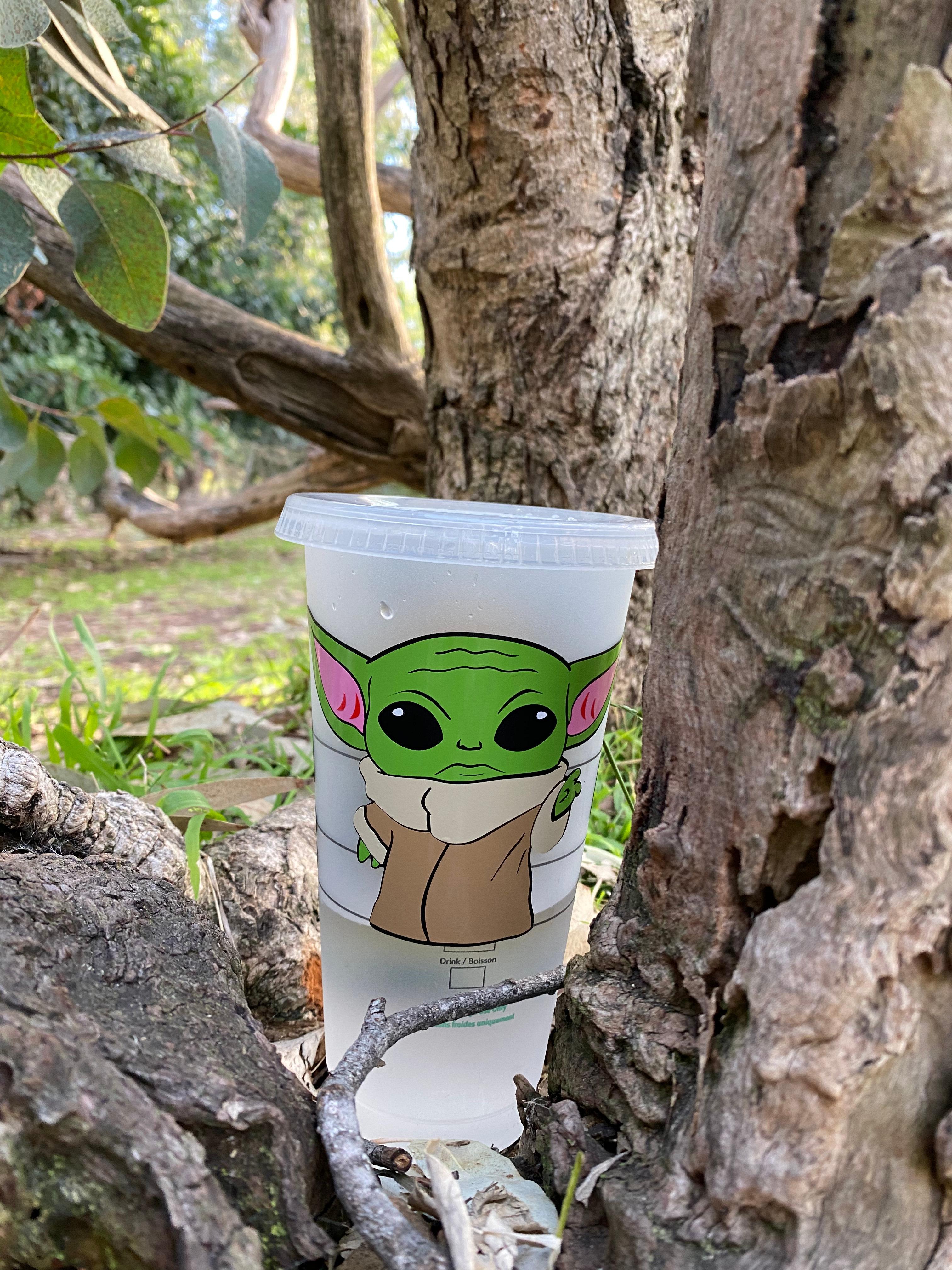 This Is The Way Mythosaur Star Wars: The Mandalorian Inspired Custom Starbucks Cold Cup -- Venti 24 oz