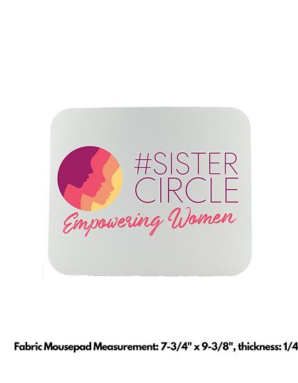 Sister Circle Fabric Mousepads