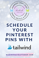 Schedule your pinterest pins with tailwind