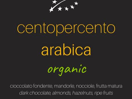 𝗰𝗲𝗻𝘁𝗼𝗽𝗲𝗿𝗰𝗲𝗻𝘁𝗼𝗮𝗿𝗮𝗯𝗶𝗰𝗮 𝗼𝗿𝗴𝗮𝗻𝗶𝗰 | miscela di caffè biologico