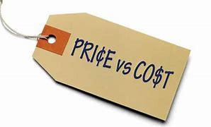 Price Versus Cost