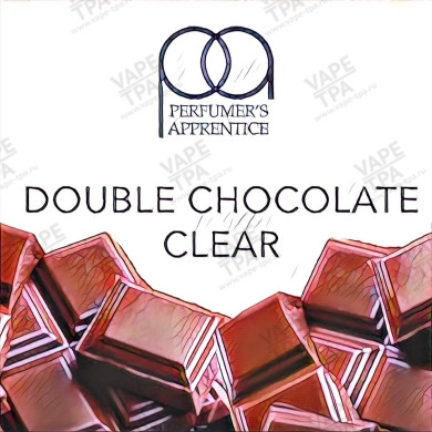 Ароматизатор TPA Double Chocolate Clear