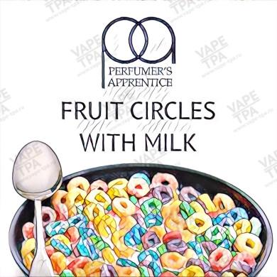 Ароматизатор Fruit Circles With Milk TPA