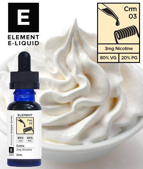 Рецепт ELEMENT E-LIQUID - Crema