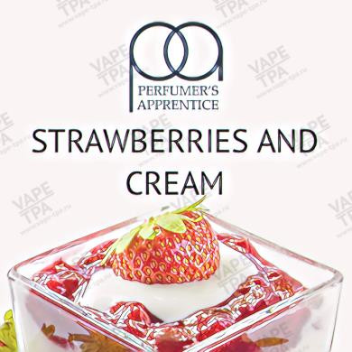 Ароматизатор TPA Strawberries and Cream