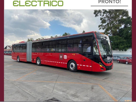 Primer Metrobús eléctrico en México