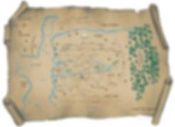 A map of The Aldoran Saga