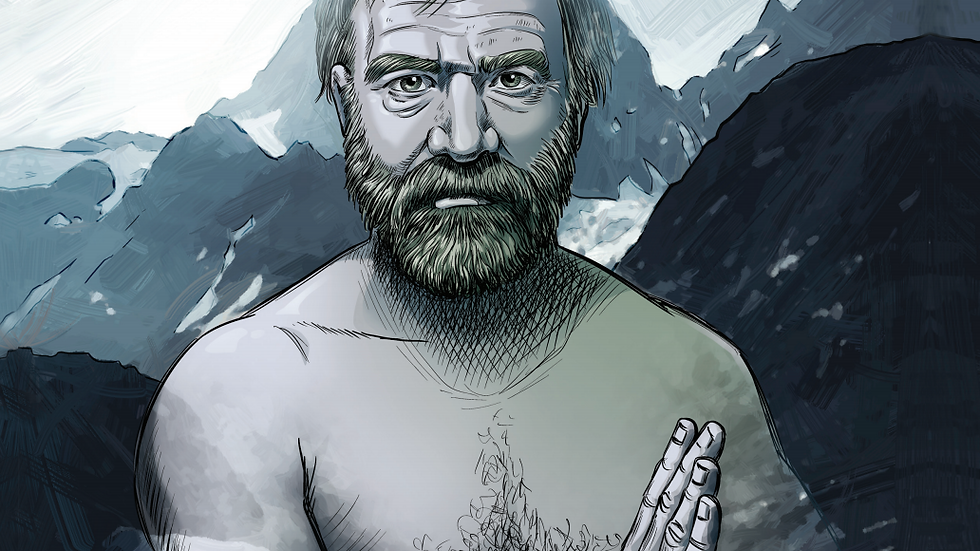The ICEMAN: a Wim Hof story. Digital comic book.