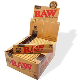 Raw King Slim Rolling Papers