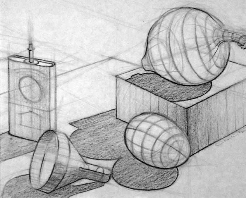 """Egg Onion Funnel""  11x14"