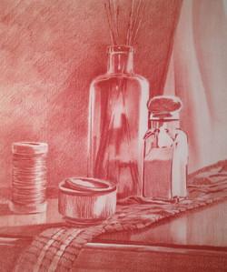 """""""Steel Tin Glass Salt""""   9x12"""