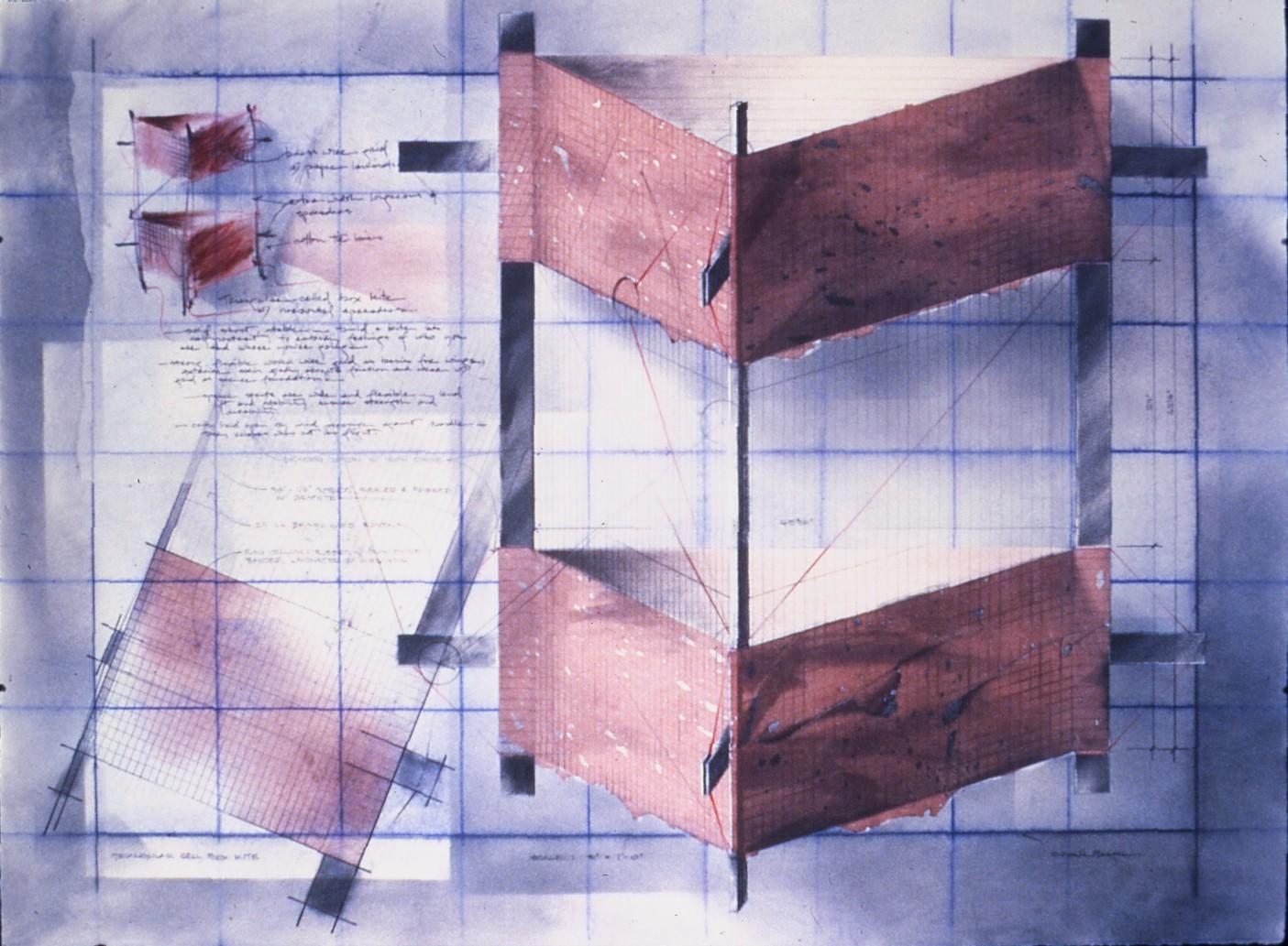 """""""Triangular box kite""""   22x30"""