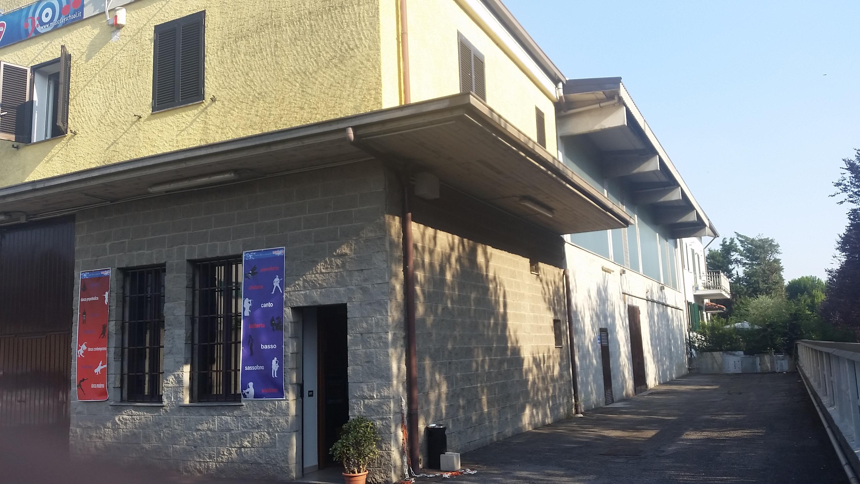 facciata e lato
