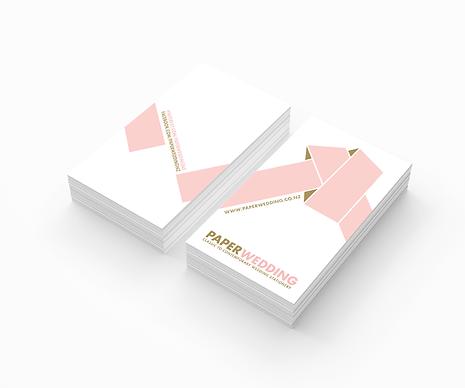 Freelance Graphic Designer NZ – Business Card Paper Wedding