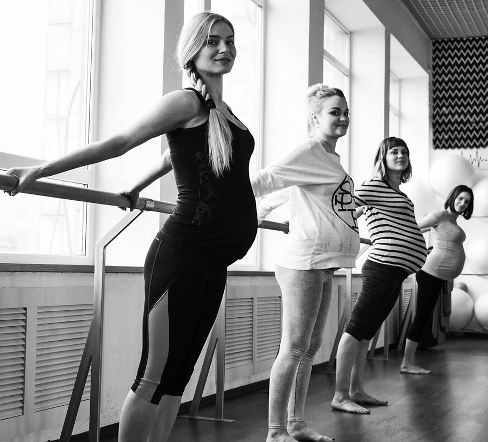 Pregnancy Barre, Yoga & Pilates