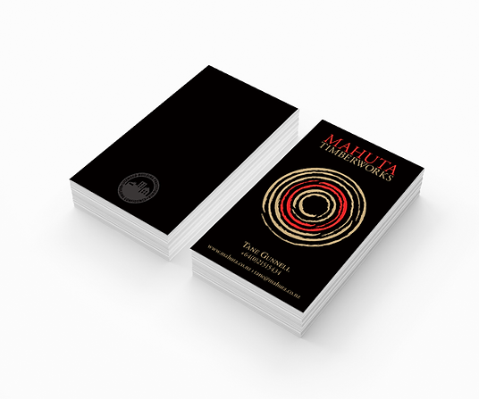Freelance Graphic Designer NZ – Business Cards Mahuta Timberworks