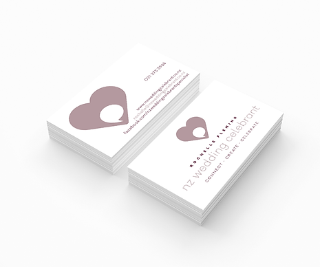 Freelance Graphic Designer NZ – Business Card NZ Wedding Celebrant