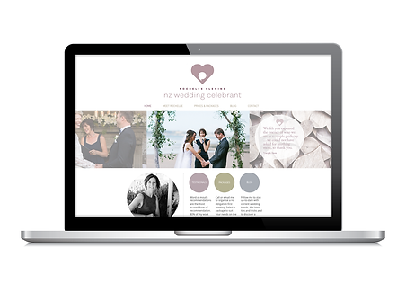 Freelance Graphic Designer NZ – Website NZ Wedding Celebrant