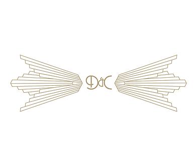 Freelance Graphic Designer NZ – Logo Dan & Cass Wedding Stationery Letterpress