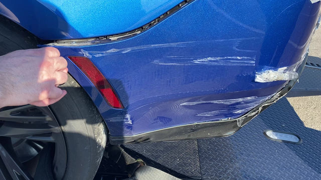Does Paint Protection Film protect your paint in an accident?